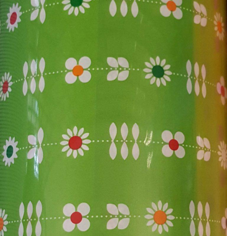 Geschenkpapier - Blumenpapier - Blumenmuster - MT2040-70cm