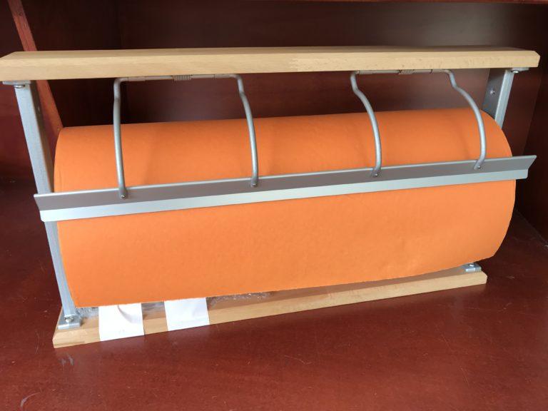 Tischapparat - Papierabrollapparat: Bucher Holz
