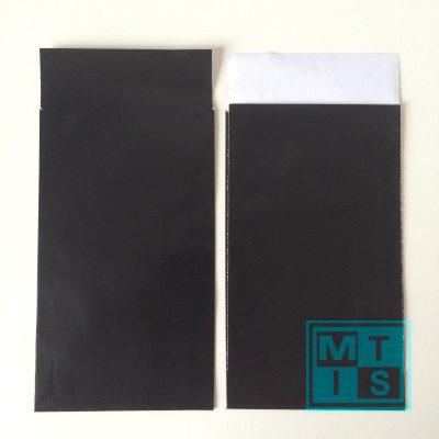 Geschenktüten Schwarz, 7x13cm, 200st