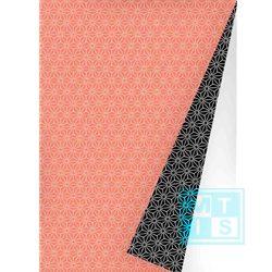 Geschenkpapier Chic Neon Orange Black, K601475-6