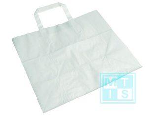 Tragetasche weiß 22x11x28 MTgeschenkpapier