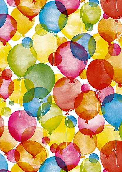 Geschenktüten Watercolour Balloons, 250st VERFÜGBAR: 1. DEZEMBER 2018! Bereits jetzt vorbestellen!