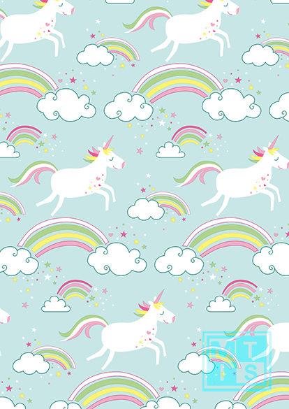Geschenkpapier Unicorn - Einhorn K601741