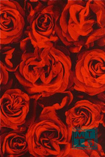 Geschenkpapier rote Rosen 60297