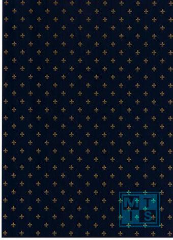 Geschenkpapier French Lily Blue 6564