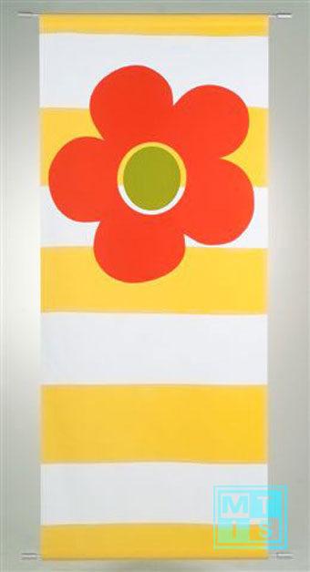 Bannerdisplay Happy Yellow