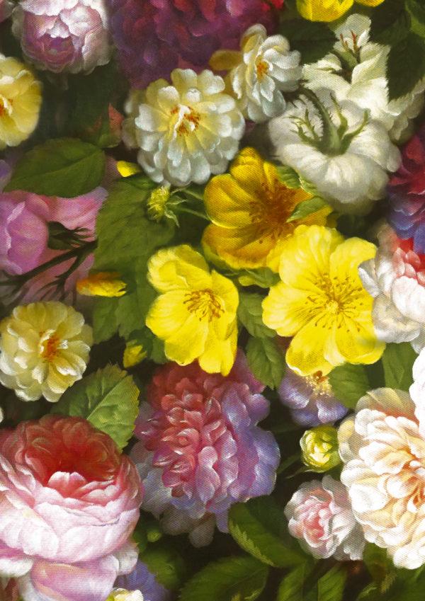 Geschenkpapier Floral Baroque