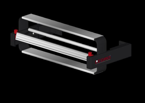 LEGRO Wandapparat – Papierabrollapparat inkl. Bügel für 1 Rolle