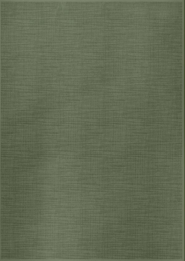 Geschenkpapier Olivgrün Leinen