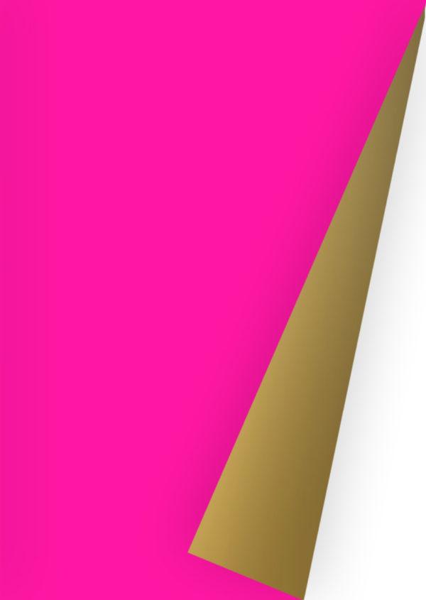 Rosa Gold Geschenkpapier K642806