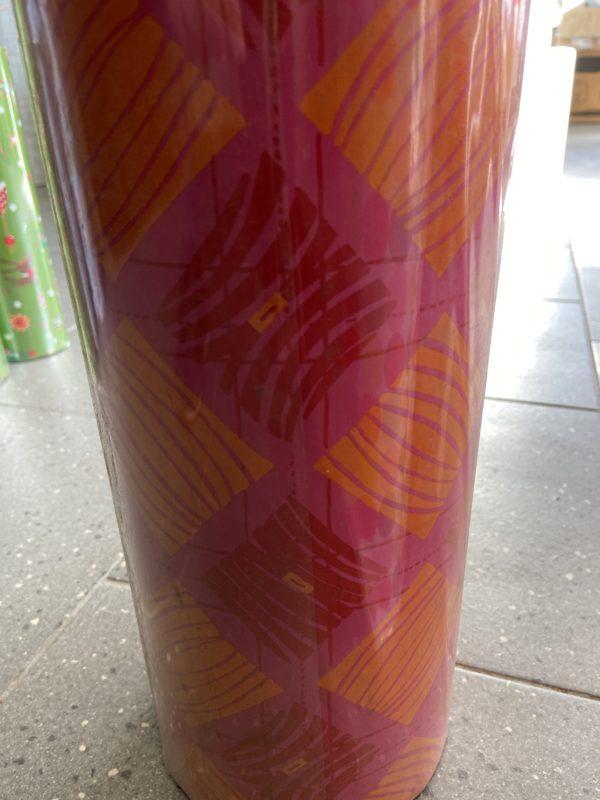 Einpackpapier C4053 Fantasy in Orange