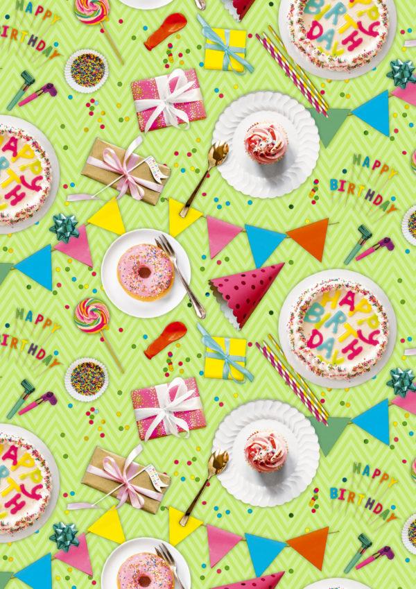 Geschenkpapier It's a Birthday Party