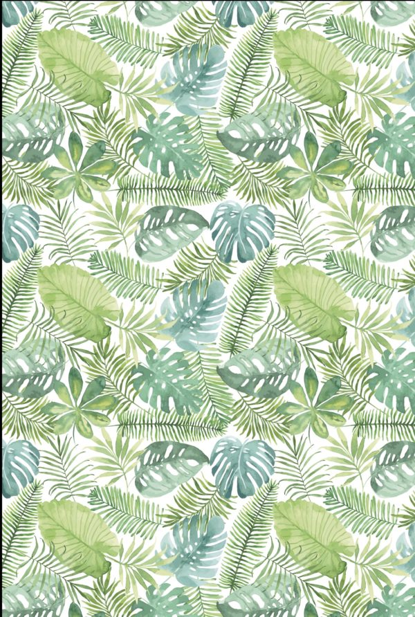 Geschenkpapier Tropische Blätter