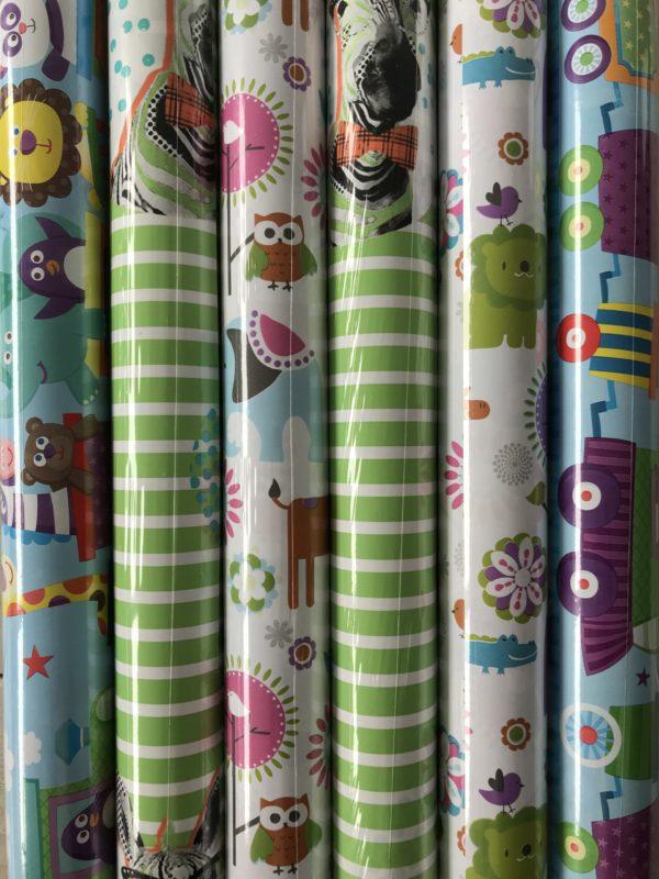 Geschenkpapier Childrens Print 6 Rollen