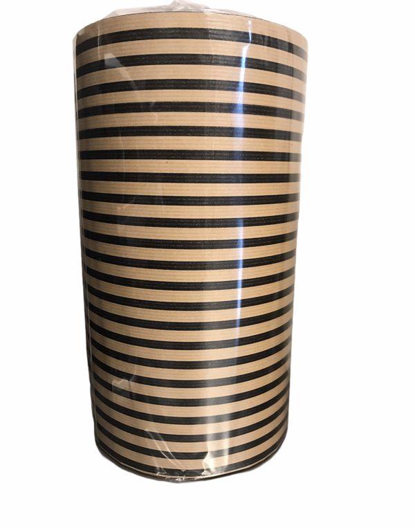 Kraftpapier mit schwarzen Streifen C4100