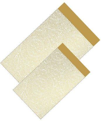 Geschenktaschen mit Golden Punkte Doppelseitig