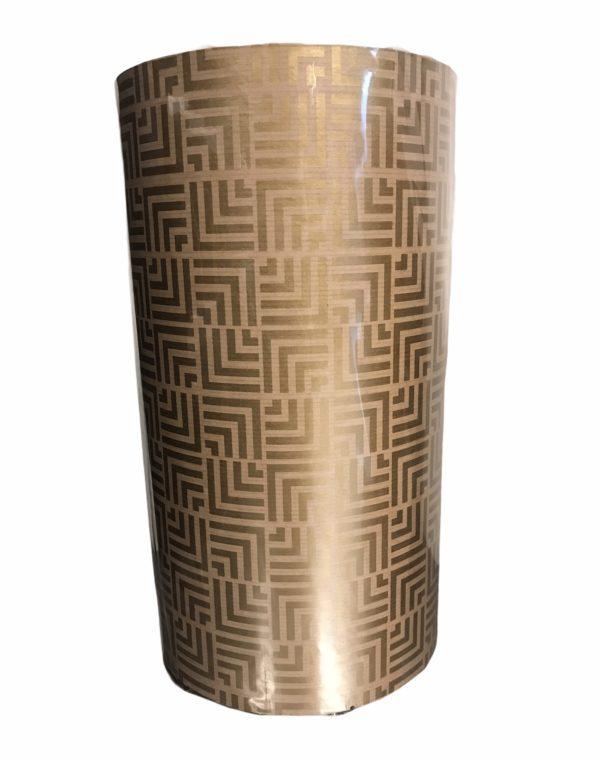 Kraftpapier mit goldenem Muster C4101