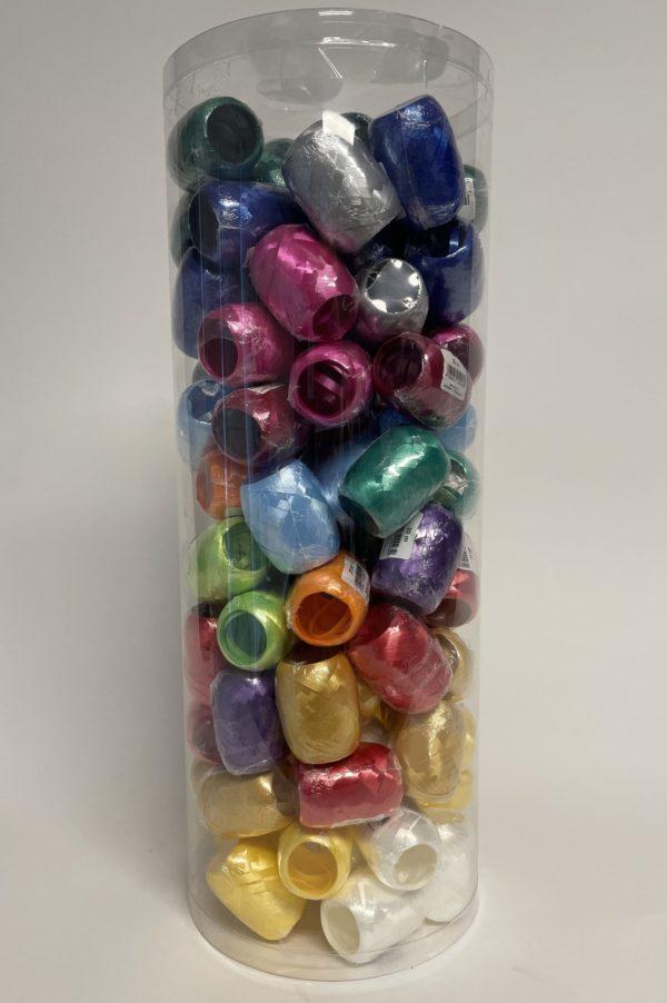 Kräuselband Spheres - Eggs - 100 Stück in verschiedenen Farben in einer Tube
