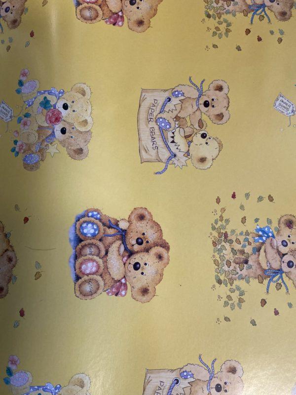 24 Blatt Geschenkpapier Classic Bears