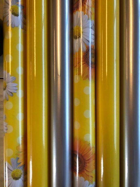 Geschenkpapier Sonnenblume Multi 6 Rollen