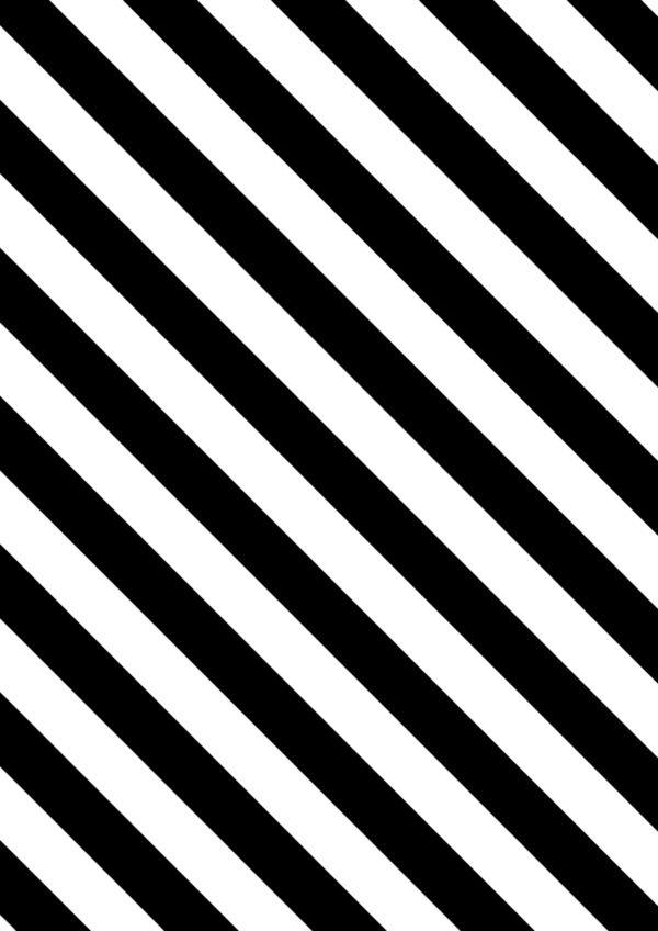 =Geschenkpapier mit Diagonalstreifen Schwarz