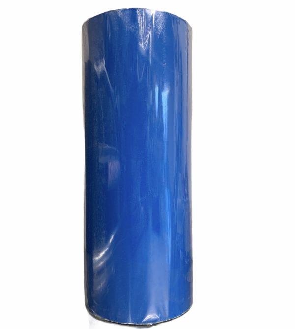 Geschenkpapier uni Neon Blau C4125