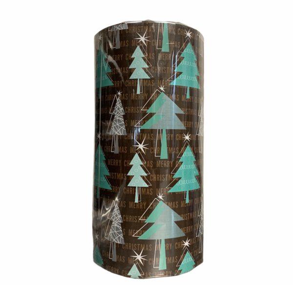 Braun Urlaub Papier Weihnachten Vibe C4135