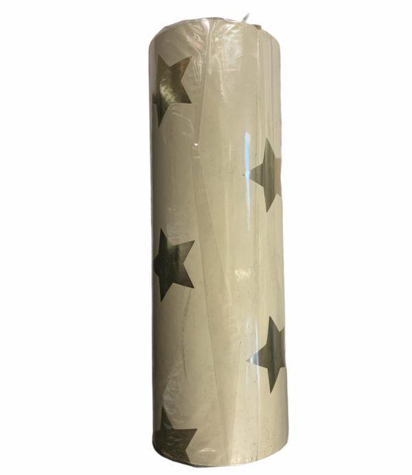 Geschenkpapier Gelb mit Sternen C4165