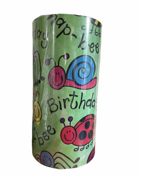 Kinder Geschenkpapier Geburtstag Tiere