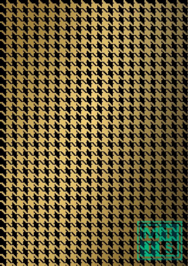 Schwarzes Gold Weihnachtspapier Geschenkpapier