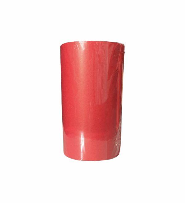 Bedrucktes Seidenpapier Rot auf Rolle
